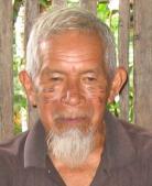 Don Sabino Chamane de la communauté Sarayaku