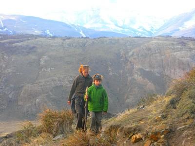 Marche vers le mont Fitz Roy