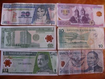 Billets des pays traverses