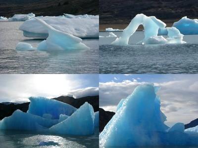 Scluptures de glace